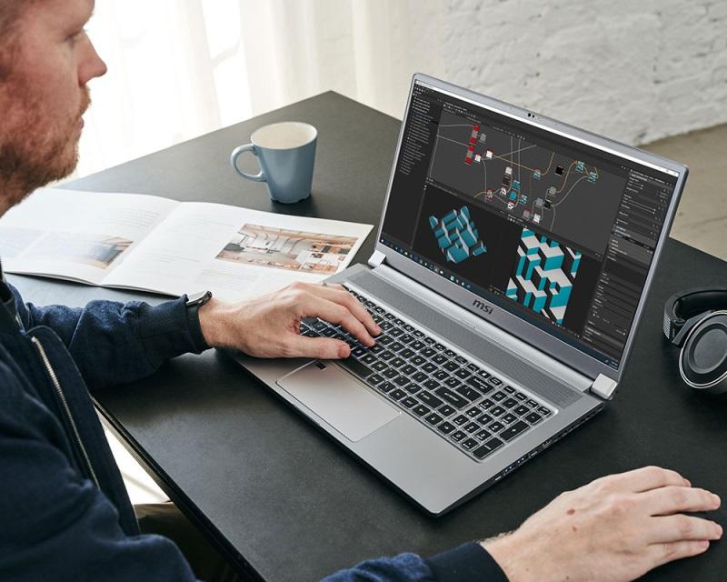 MSI Creator 17 profesionálny notebook pre tvorcov