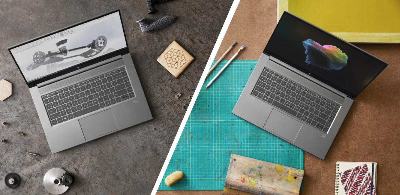 Štýlové notebooky HP