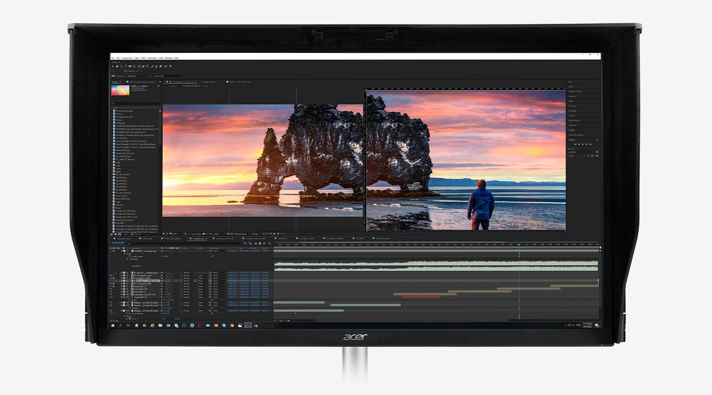 Profesionálny monitor Acer ConceptD CP3