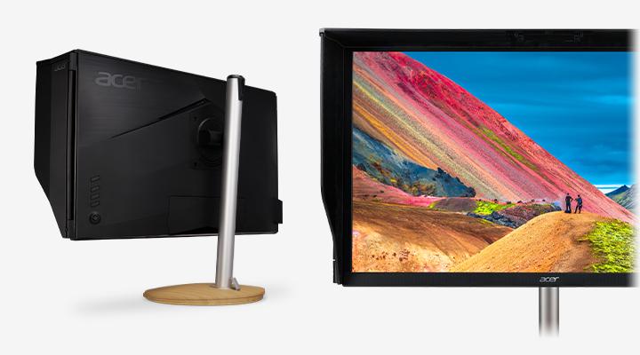 Profesionálny monitor Acer ConceptD CP3 tienenie