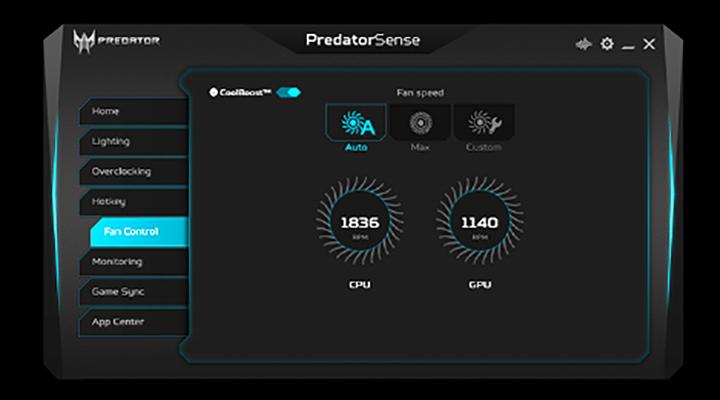 PopisNotebook Acer Predator Helios 700