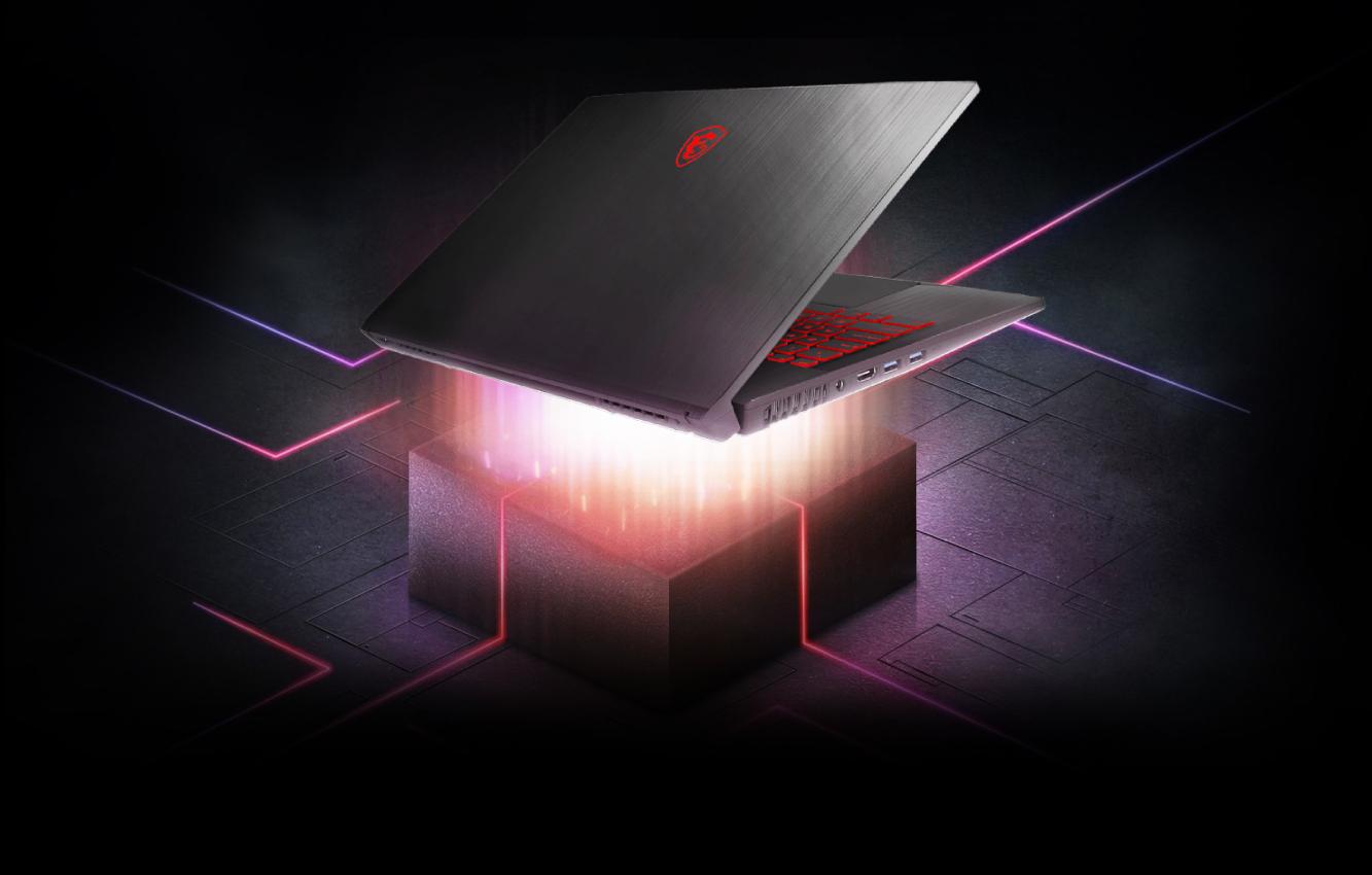 MSI GF75 Thin herný notebook s tenkým dizajnom