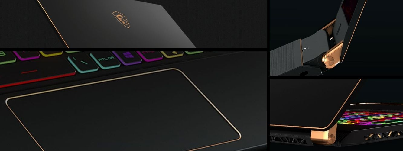 Herný notebook od MSI GS75 Stealth