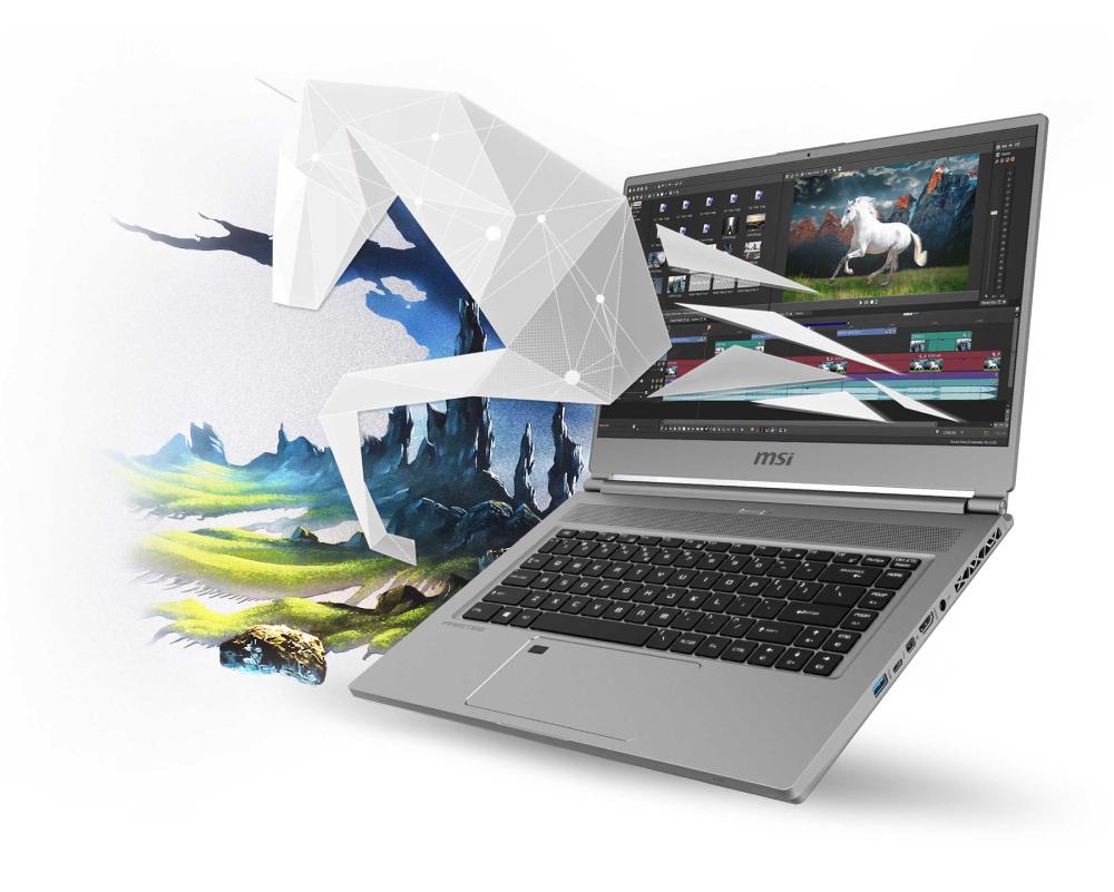 MSI P65 Creator profesionálny notebook pre tvorcov
