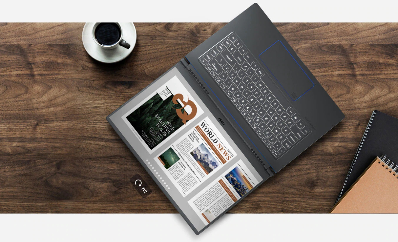 Profesionálny notebook MSI Prestige 15