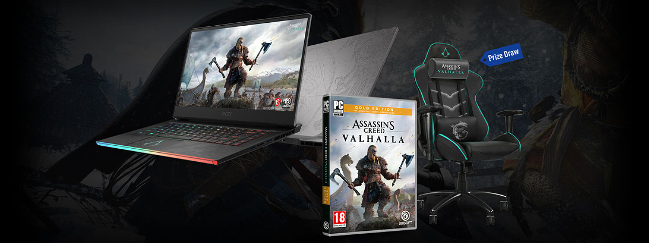 Herný notebook od MSI GE66 Raider Valhalla limitovaná edícia