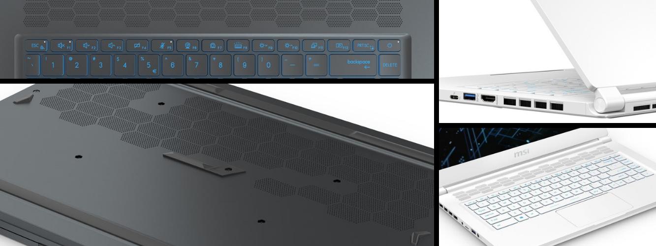 Herný notebook od MSI GS66 Stealth